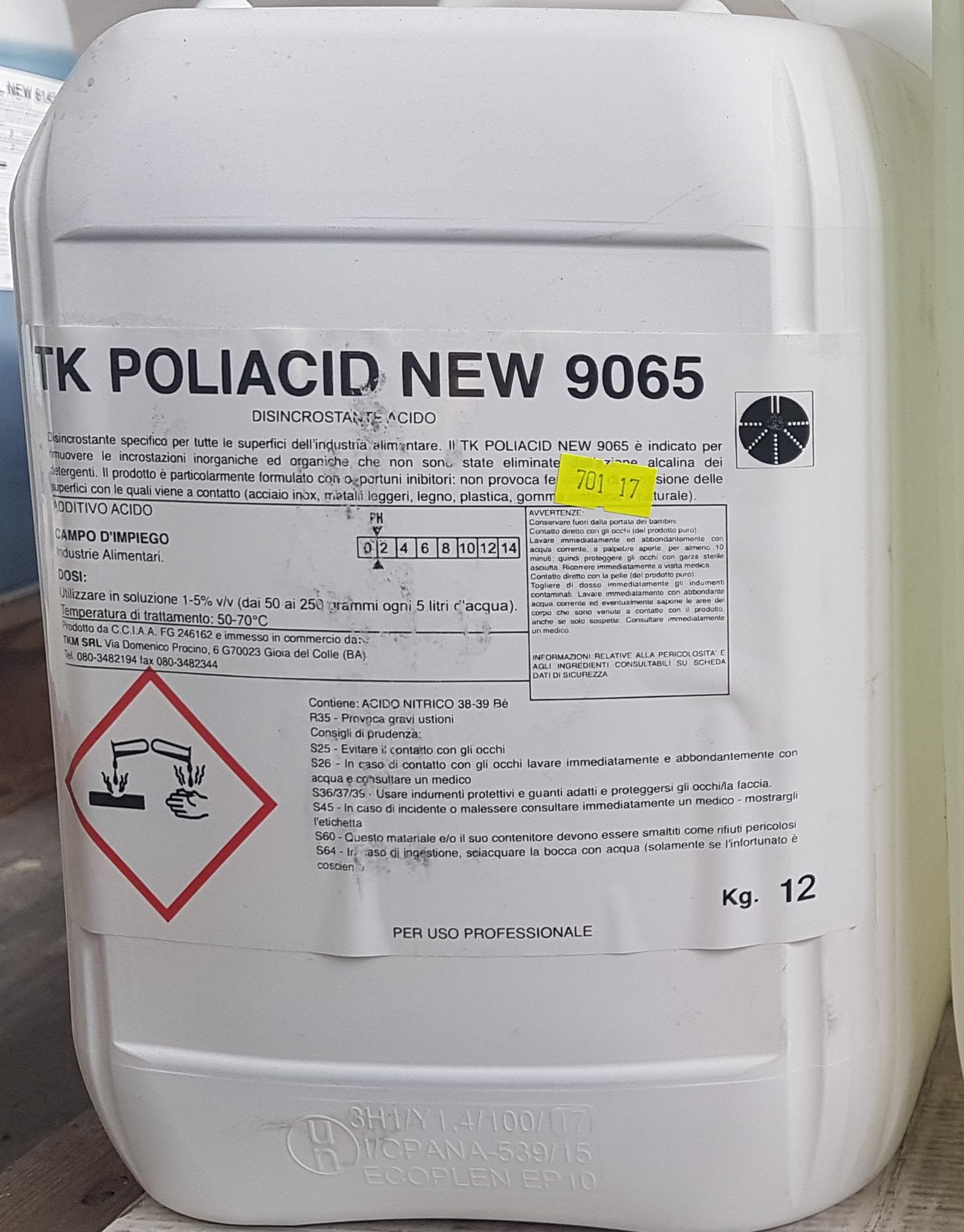 Tk Poliacid New 9065 Tkm Srl